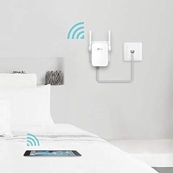 Tp-link Re305 Ac1200 Wlan Repeater (Dual Wlan Ac+n, 1167 Mbits, App Steuerung, 1 Port, 2x Flexible Externe Antennen, Wps, Ap Modus, Kompatibel Zu Allen Wlan Geräten) Weiß 10