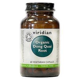 Viridian Organic Dong Quai Root 400mg 60 veg Kappen