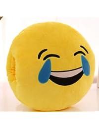 MAYUAN520 Cojines 1 Pedazo De Invierno Cartoon Emoji Mano Cálida Almohada Cojín Con Interior De Peluche Rellenos Almohadones Creativos,18