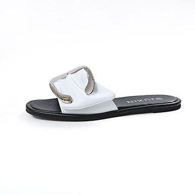 Donn's sandali Primavera Estate Comfort PU Abito casual Chunky tacco US5.5 / EU36 / UK3.5 / CN35