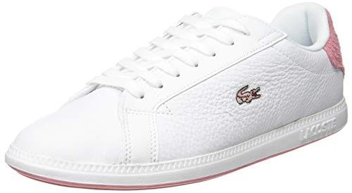 Lacoste Damen Graduate 319 1 SFA Sneaker, Weiß (White/Pink B53), 38 EU