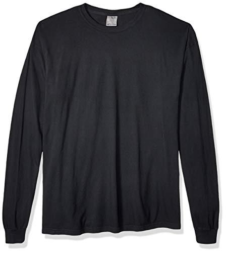 Beta-schwarzes T-shirt (Comfort Colors Unisex-Erwachsene Adult Long Sleeve Tee T-Shirt, schwarz, 3X-Groß)