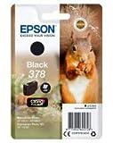 Epson Original 378 Tinte Eichhörnchen (XP-8500 XP-8600 XP-8605 XP-15000, Amazon Dash Replenishment-fähig) schwarz