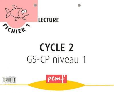 Fichier de Lecture Cycle 2 GS-CP Niveau 1 Fichier 1