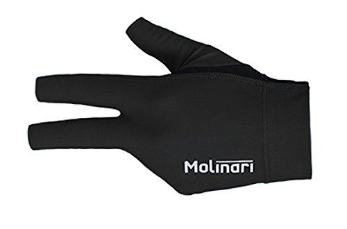 Molinari Billard Handschuh schwarz linke Hand