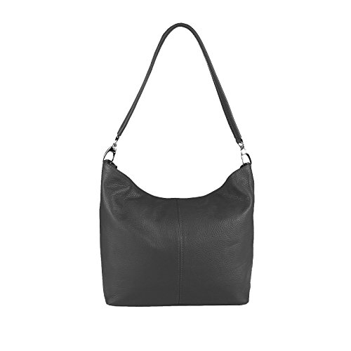 OBC Only-Beautiful-Couture, Borsa a spalla donna argento argento 37x24x13 cm (BxHxT) GRIGIO SCURO V1