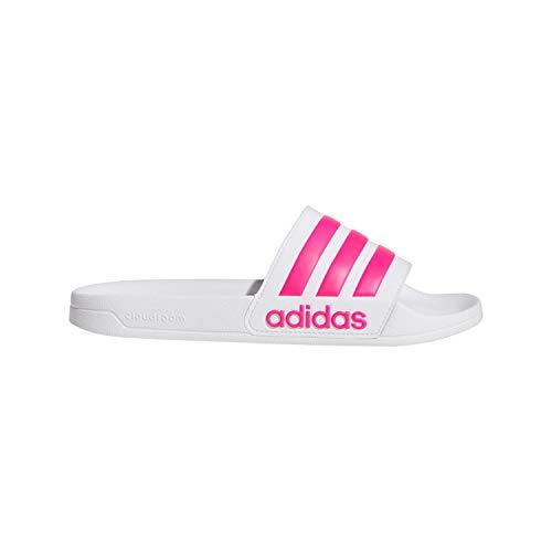 Adidas Adilette Shower, Herren Dusch- & Badeschuhe, Weiß (Blanco 000), 39 1/3 EU