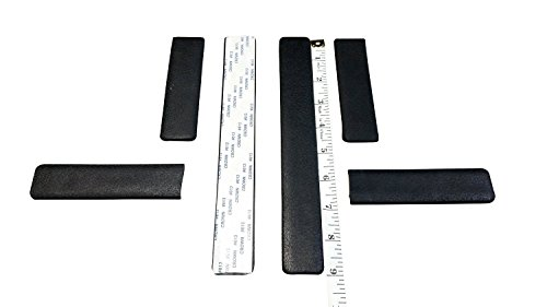 Preisvergleich Produktbild Everprotect Stoßfänger-Set, selbstklebend, kompatibel mit 16,5cm (6,5Zoll) 2-Rad Hoverboard, 6 Stück