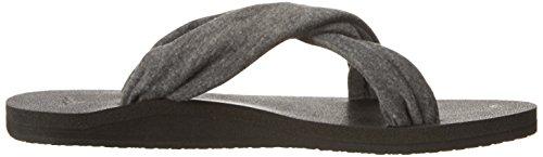 Sanuk Women's Yoga X-Hale Flip Flop Anthracite