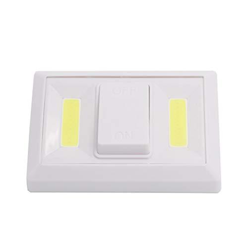 POTOU Led-Licht 4 stücke COB LED Taschenlampe Arbeitslicht Magnetische Batterie Inspektion Unter Kabinett