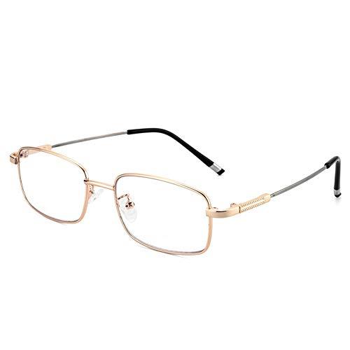 Blaulichtfilter-Lesebrille, intelligente automatische Zoom-Brille für Herren, Fern- und Nahbereich mit doppeltem Verwendungszweck, ultraleichter Memory-Titan-Rahmen, Anti-Öl-Linse