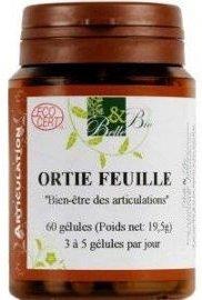 Ortie Feuille - 60 gélules - BIO - BELLE ET BIO