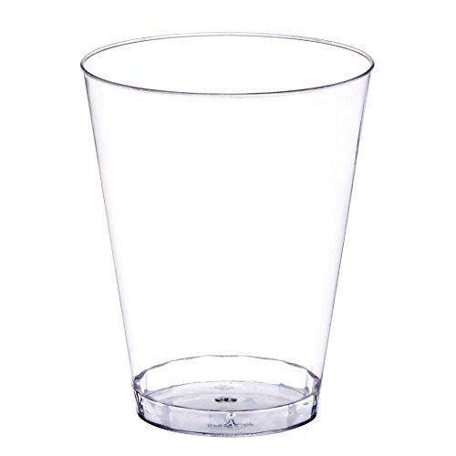 Occasions Hochzeit Wegwerfplastikbecher Cups (10 Ounce (100 Count), Clear)