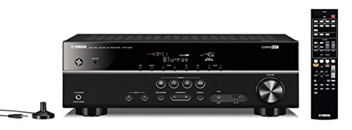 YAMAHA HTR-3067 5.1CH AV Receiver with Dolby TrueHD, DTS-HD Master Audio, USB, 3D & Ultra HD 4K Passthrough