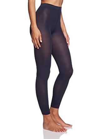 Esprit - 19463 50 Den 3/4 Legging - Legging - Femme - Noir (black 3000) - Taille 36/38 (DE: 38/40)