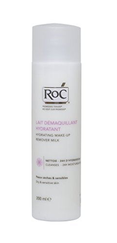 ROC Hydrating Make-Up Remover Milk (For Dry & Sensitive Skin) 200ml
