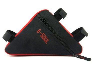 f509b23d96b Bolsa triangular para bicicleta, bolsa de almacenamiento para sillín  triangular, bolsa de esquina para