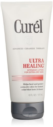 Curel Ultra Healing Lotion, 6 Ounce (Pack of 2) by KAO Brands [Beauty] (English Manual)
