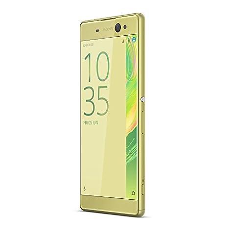 Sony F3211 lime gold Smartphone Xperia XA Ultra LTE 16GB,