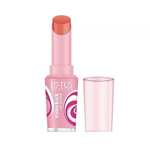 LOTUS HERBA;S SPF-20 Colorkick Lip Sugar Orange, 3 g
