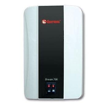 Thermex Stream 700 Weiß Klein Durchlauferhitzer Mit Armatur/Brause,  Elektronisch (Weiss): Amazon.de: Küche U0026 Haushalt