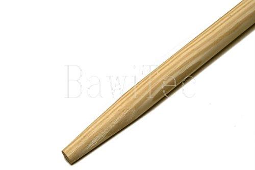 BawiTec Besenstiel Gerätestiel 140cm 160cm 200cm Holzstiel 28mm Besen Stiel (200cm)