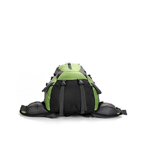 Z&N Backpack 25-30L Hochwertige Wasserdichte Nylon Outdoor Bergsteigen Tasche Unisex Sport Wanderung Urlaub Picknick Party Tasche Verstellbare Gurt Anti-Riss Rucksack Daypacks D
