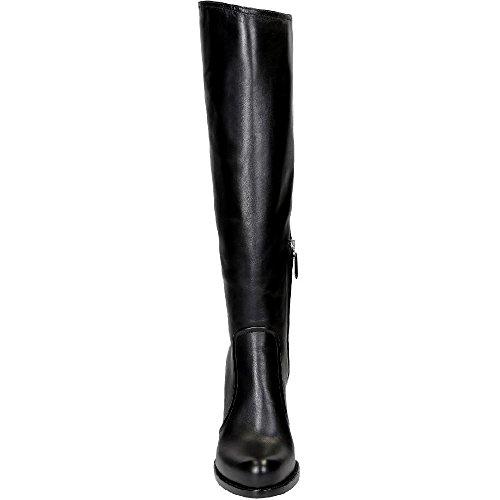 Stivali al ginocchio Prada in Pelle di vitello nero - Codice modello: 1W158G 3M0L F0002 Nero