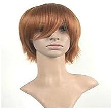 OOFAY JF® pelucas estilo peluca cosplay pelucas naturales del hombre se iluminan cortas pelucas de