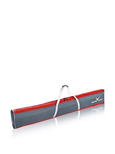 Black crevice 151005 - sacca da sci 190 x 13 x 30 cm, 74 litri, rosso/grigio