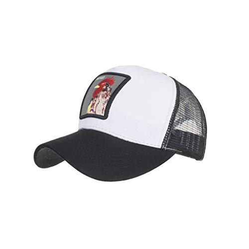 Imagen de ❤rytejfes  beisbol de casual pescador sombrero sombrero de sol visera plegable animal de bordado upf 50+ ajustable transpirable anti uv para aire libre viaje selva exterior alternativa