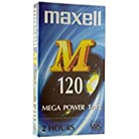Maxell M120 - Cinta de audio/video (120 min)