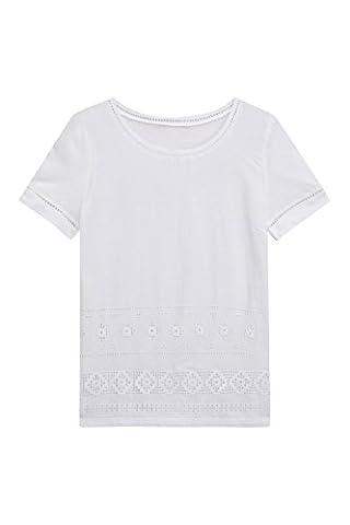 next Femme T-Shirt Avec Finitions Brodées Petite Taille Petite Taille