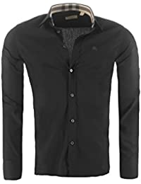 Amazon.fr   BURBERRY - T-shirts, polos et chemises   Homme   Vêtements eb6824f8f215