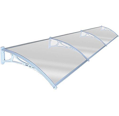 Preisvergleich Produktbild Neue Tür Vordach Vorderseite Rückseite Veranda Outdoor Schatten Terrasse Bezug weiß 80x 360cm
