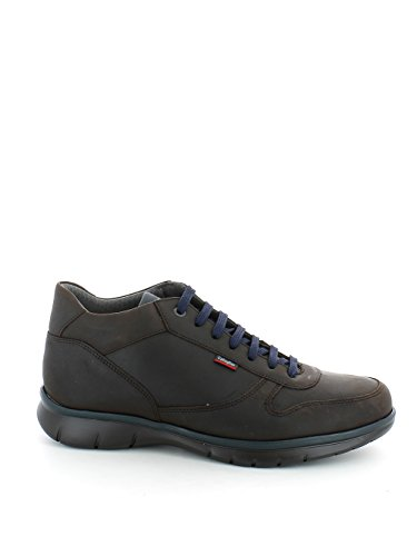 Sneaker in pelle marrone con Adaptaction N. 43