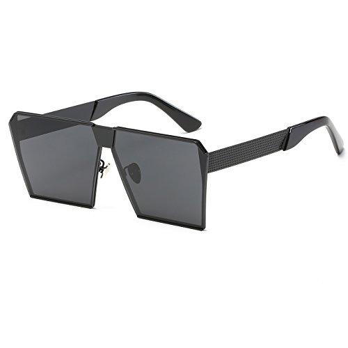CVOO Unique Oversize Shield Vintage Square Sunglasses