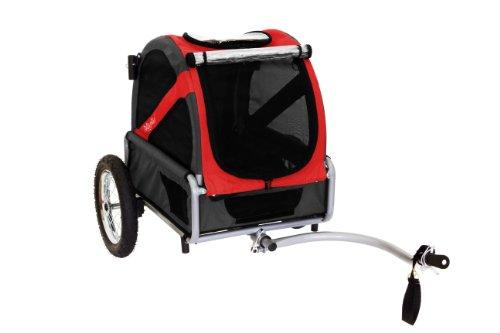 Artikelbild: DoggyRide Mini Fahrradanhänger für Hunde leicht Konvertiert auf Kinderwagen (optional mit Kit)