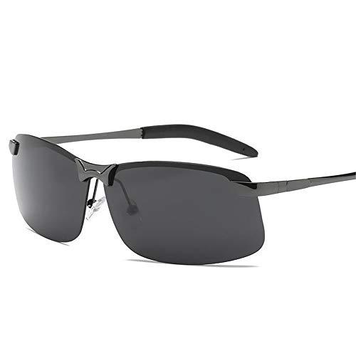 Polarisierte Aluminium-Magnesium-Outdoor-Reitbrille, geeignet zum Angeln, Laufen, Fahren, Golfen für Herren und Damen. UV400 @ 1