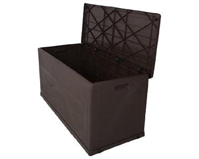 Kissenbox Wood braun von Ondis24 bei Du und dein Garten