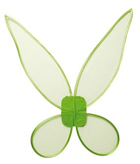 Rubie's Feenflügel Grün Fee Flügel Zauberwelt Kinder Mädchenkostüm ()