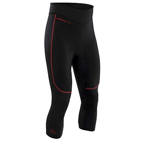 palm-kaituna-capri-3-4-length-neoprene-shorts-black-na355-sizes-small