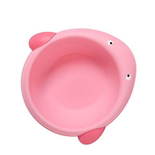 Baoblaze Baby kinder Waschschale aus Kunststoff - Wal rosa