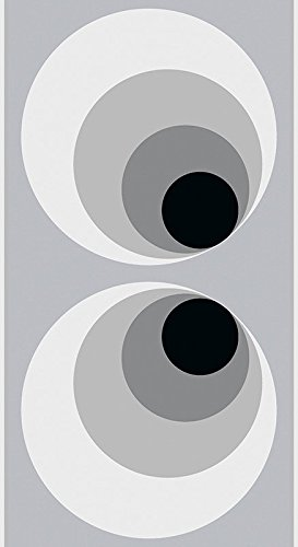 Livingwalls selbstklebendes Panel pop.up Panel 2,50 m x 0,35 m grau schwarz 942782