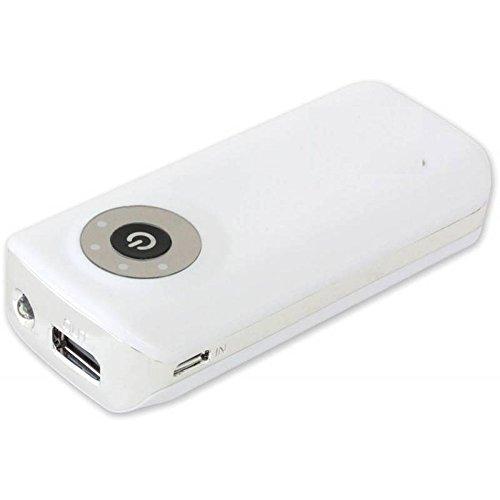 EPOW® Batterie externe 5200mAh [GARANTIE 1an] idéale pour Pokemon GO, Batterie Portable Lampe LED Batterie de Secours pour iPhone 5 / iPhone 6 / iPhone 7 / Huawei / Samsung Galaxy S7 S8 - Blanc