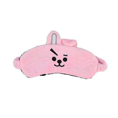 Christ For Givek Kpop BTS Bangtan Boys Characters Eye Cover Sleeping Mask Cute Cartoon Eye Cover(H02) -