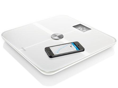 Withings Smart Body Analyzer Bilancia Connessa e Monitoraggio della Forma, Bianco