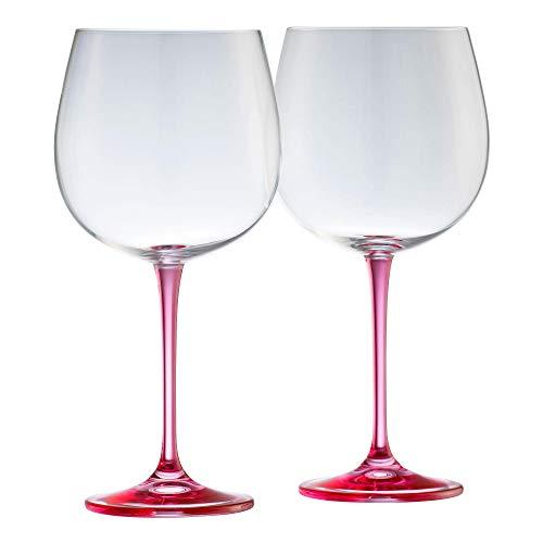 Galway Gin & Tonic Kristall-Set, Pink, 1 Paar Galway Crystal Set