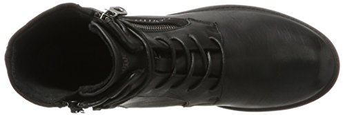 S.oliver 25107, Combat Boots Mujeres Negro (negro)