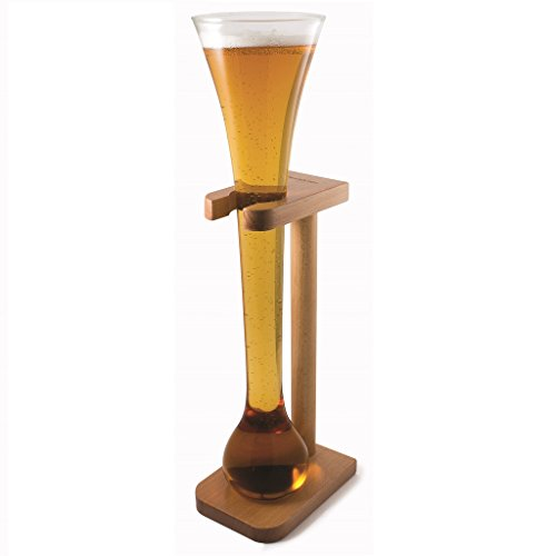 ckb-ltdr-half-yard-tall-ale-glass-with-smart-birch-wood-stand-holder-kwak-bierglaeser-bierglas-mit-h